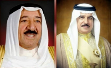 HM King thanked by Kuwait Amir