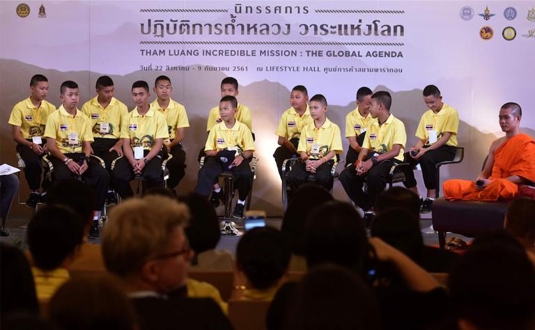 Thai film company to retell cave saga