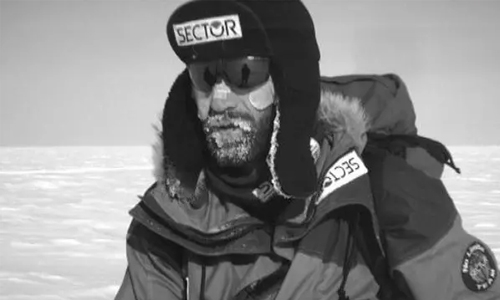 The first solo Antarctic traverse