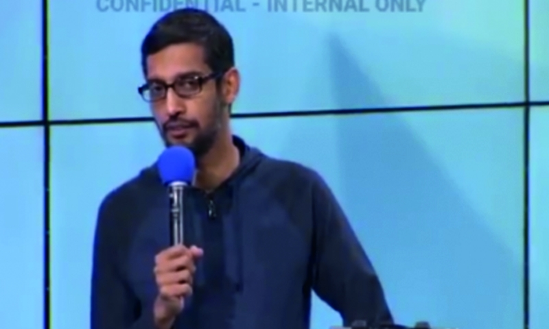 Video shows Google execs troubled by Trump election