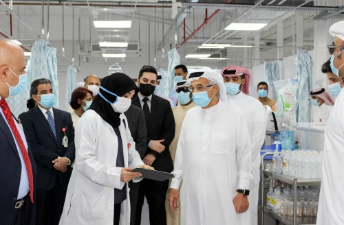 The President of the Supreme Council of Health pays an inspection visit to Salmaniya Medical Complex