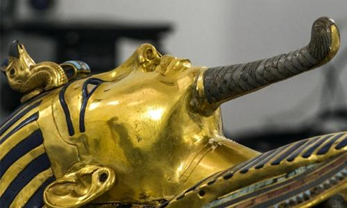 Scans suggest '90%' chance of hidden chamber in King Tut tomb