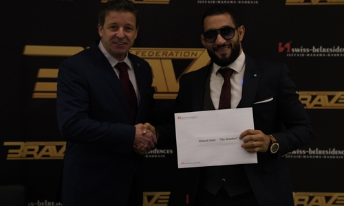 New BRAVE CF Champion Ahmed Amir welcomed back with reception at Swiss-Belresidences