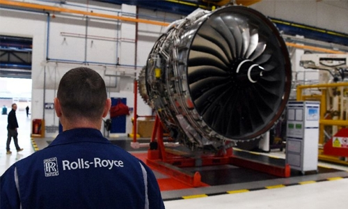 Engine maker Rolls-Royce logs record loss of £4.0bn