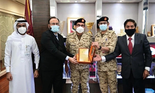 Pakistan Club thanks Sitra field ICU hospital