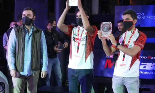 Bahrain duo impress in MENA Digital Cup