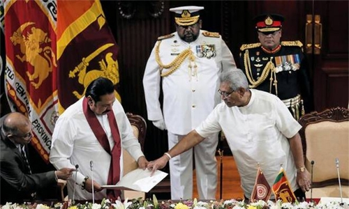 Sri Lanka's ruling siblings