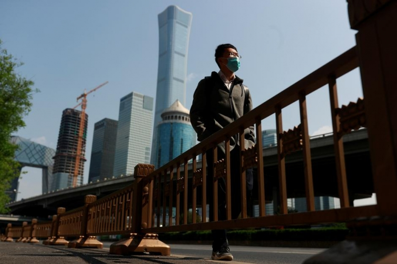 China's first quarter GDP shrinks for first time on record