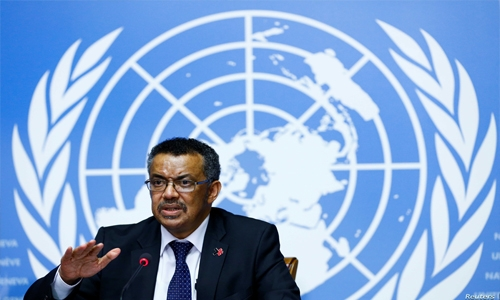 WHO chief urges countries to invest in health as a motor of development