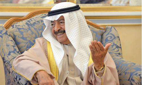 Prince Khalifa praised on  successful health check