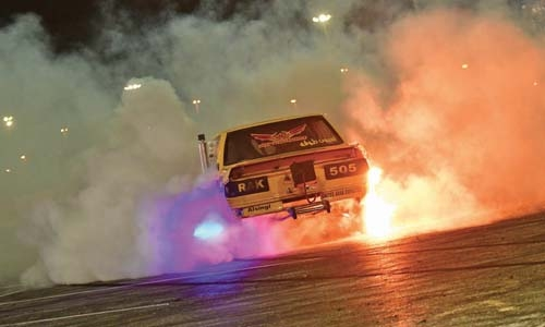 Burnout set for finale