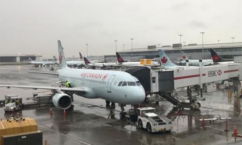 Passenger wakes up alone on plane!