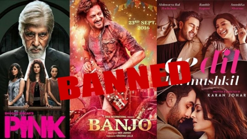 Image result for Pakistan bans screening of Indian films