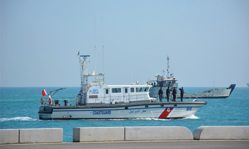 Two Bahraini Coast Guard vessels stopped by Qatari patrols