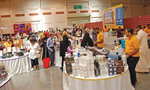 Shopping spree at Al Hawaj Bazaar