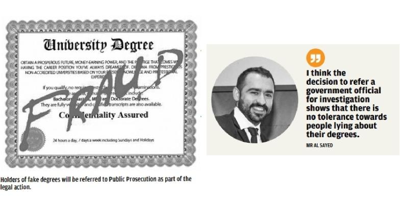 Fake degree probe intensifies