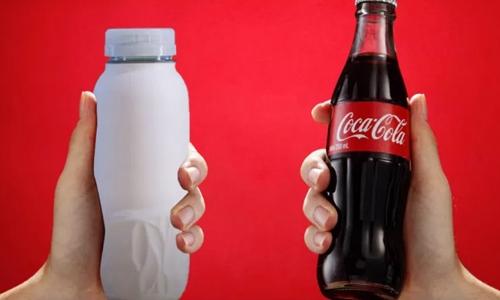 Coca-Cola test paper bottles in bid to reduce plastic pollution