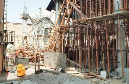 Five injured in worksite accident, probe on to find the reason behind accident