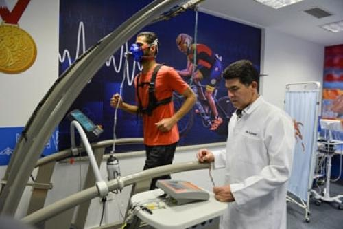 Performance lab open for football players