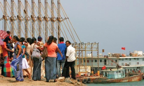 Sri Lanka  hands port formally  to China