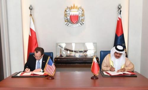 Interior Minister, US Ambassador sign counter-terrorism training agreement