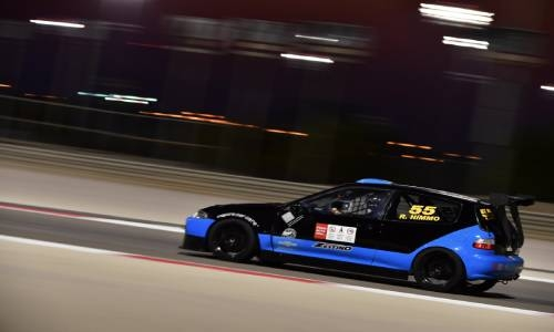 Himmo claims season-opening double at BIC