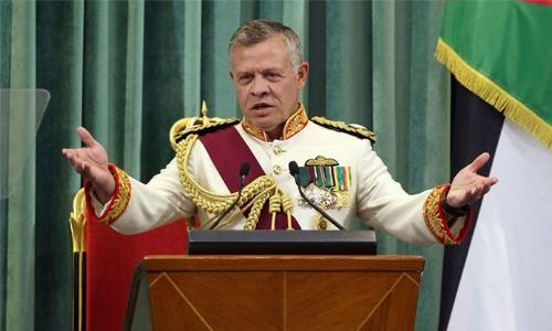 Jordan's king vows to fight corruption