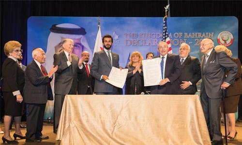 Bahrain takes a big step forward for peace
