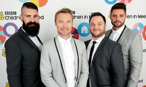 Boyzone would like to team up with Spice Girls