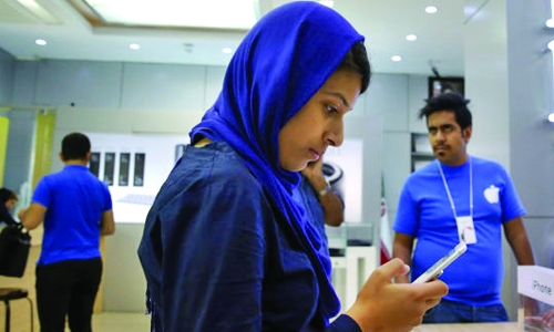 Iran's iPhone users blocked from App store