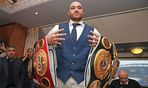 Fury receives backdated 2-year doping ban, free to box again