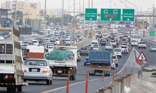 Bahrain ranked 11th globally in traffic congestion