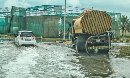 Heavy rains disrupt life