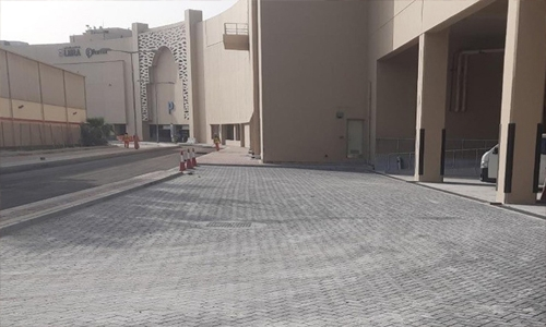 Sheikh Ibrahim bin Mohammed Street project completed 45%: Works Ministry
