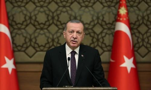 Turkey to set up Syria security zone: Erdogan