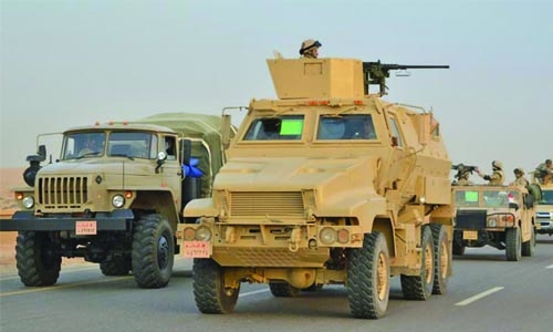 Egyptian security forces kill 53 militants in Sinai crackdown