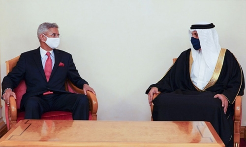Indian Minister of External Affairs arrives in Bahrain