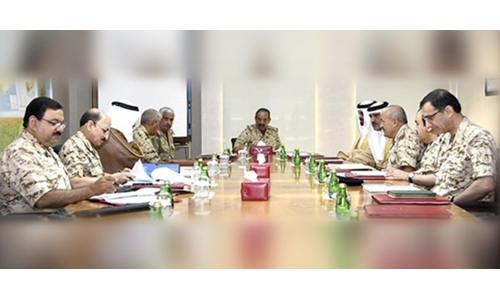 Commander-in-Chief chairs Military Pensions Supreme Council meeting