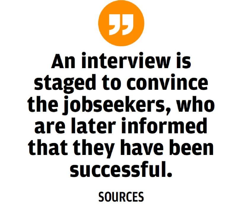 Alert call to jobseekers as fraud recruitment agencies mushroom