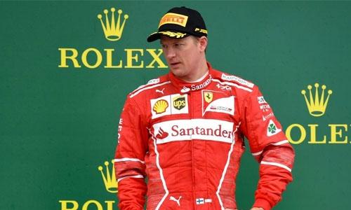 Raikkonen signs new Ferrari deal for 2018