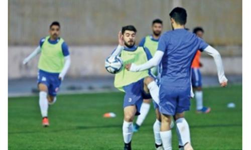Kingdom's national team gear up for stern Iraq test
