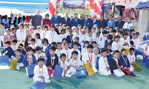 Al Noor  Kindergarten celebrates annual  sports day