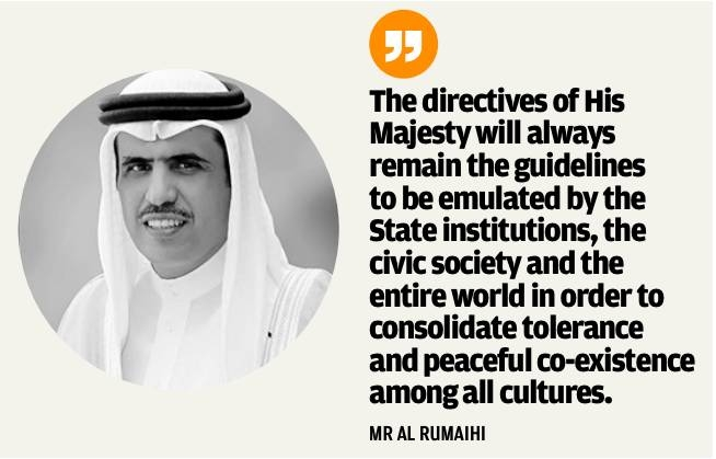 'Tolerance, peaceful coexistence essence of HM King's reforms'