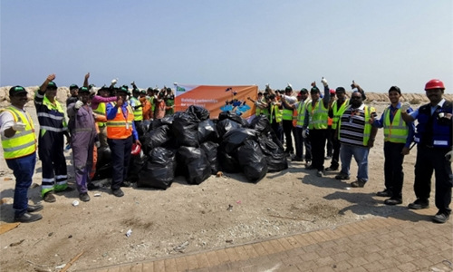Going Green: 350 kg of plastic waste removed from the port area