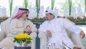 His Majesty holds talk with Ajman ruler