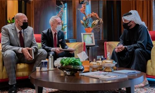 We look forward to bolstering Bahrain-Poland sports ties: Shaikh Khalid bin Hamad