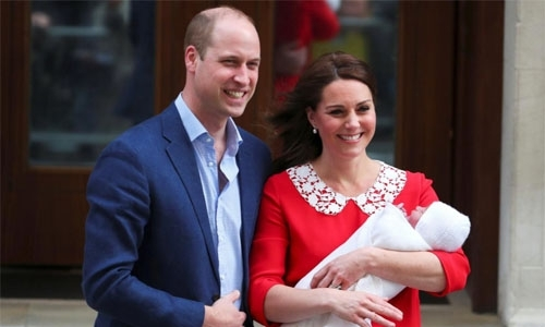 Britain's new prince is  Louis Arthur Charles