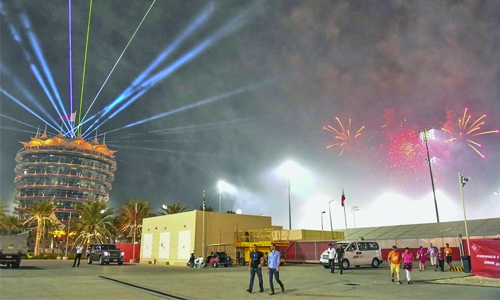 Crowds enjoy spectacular Bahrain GP