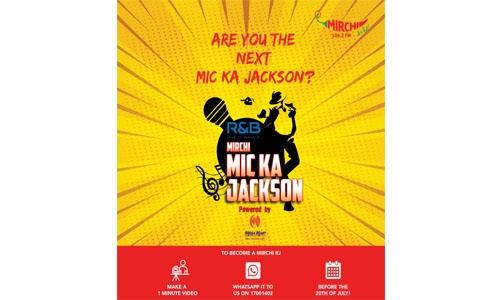 Mirchi launches its first talent hunt in Bahrain – Mirchi Mic Ka Jackson