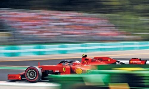 Cool Leclerc delivers Ferrari Monza triumph